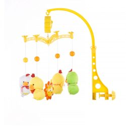 Chipolino zenélő forgó - Two yellow ducks