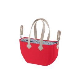 Nuvita myMIA pelenkázó táska - Crimson Optical Grey !! kifutó !!