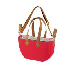 Nuvita myMIA pelenkázó táska - Crimson Rhombo Camel + vállpánt !! kifutó !!