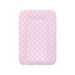 Albero Mio puha pelenkázó lap 70cm - 101 Pink rácsos (nem peremes)