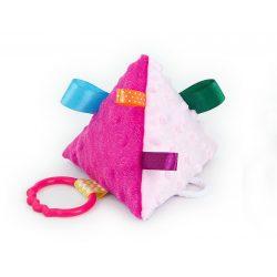 MTT Piramis plüss játék - Pink-rózsaszín