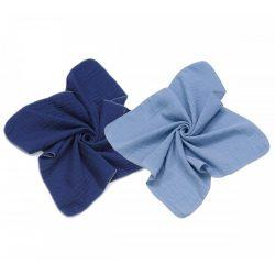 MTT Textil pelenka 2 db - Sötét és világos kék !! KIFUTÓ !!