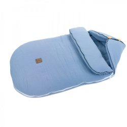 MTT Őszi muszlin bundazsák (0-12 hónapos) - Pasztell kék