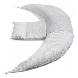 Nuvita Dreamwizard terhességi és szoptatós párna - Grigio Bianco - 7100