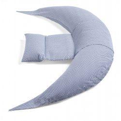 Nuvita Dreamwizard terhességi és szoptatós párna - Blu Bianco - 7100