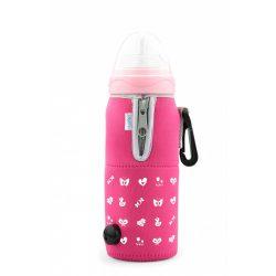 Nuvita autós cumisüveg melegítő - Pink - 1074
