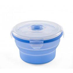 Nuvita Összecsukható szilikon tányér 540ml - Kék - 4468