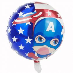 Amerika Kapitány - fólia lufi - 45 cm