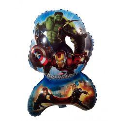 Bosszúállók - Avengers - fólia lufi - 62x40 cm