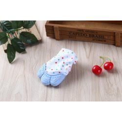 Unique Baby Fogzáskesztyű rágóka - Kék