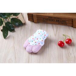 Unique Baby Fogzáskesztyű rágóka - Rózsaszín