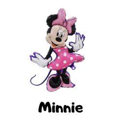 Óriás Minnie egér fólia lufi 48x80 cm