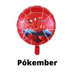 Pókember mintás fólia lufi 45 cm - Spiderman