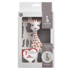 Sophie, a zsiráf rágókával, LIMITÁLT SZÁMÚ KISZERELÉS! - Ajándék dobozban