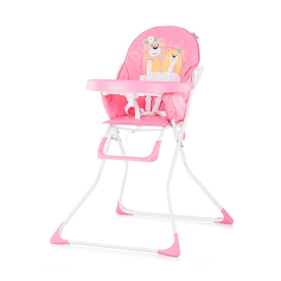 Chipolino Teddy fix etetőszék - Pink 2019 - Pindurka Bababolt! - A ... 6b8c46e502