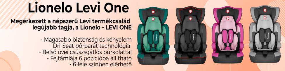 Lionelo - Levi one Autós gyerekülés